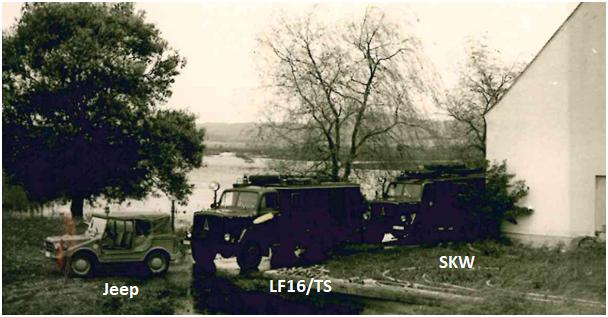 Jeep, LF16/TS und SKW